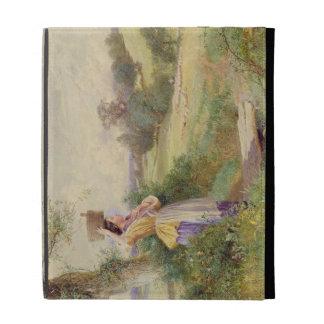 The Milkmaid, 1860 iPad Case