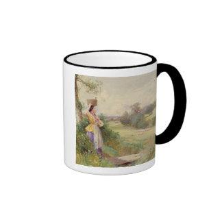 The Milkmaid, 1860 Ringer Mug