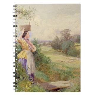 The Milkmaid, 1860 Spiral Notebooks