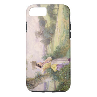 The Milkmaid, 1860 (w/c on paper) iPhone 8/7 Case
