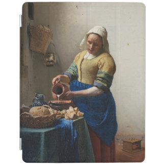 The Milkmaid by Johannes Vermeer iPad Cover