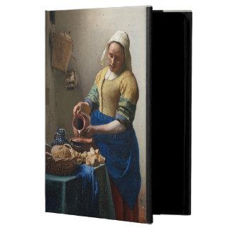 The Milkmaid by Johannes Vermeer iPad Air Cases