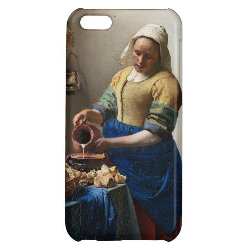 The Milkmaid by Johannes Vermeer iPhone 5C Case