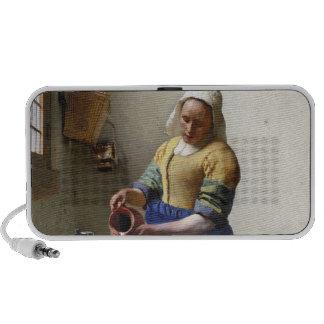 The Milkmaid, c.1658-60 (oil on canvas) iPod Speaker