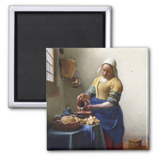 The Milkmaid, c.1658-60 (oil on canvas) Magnet