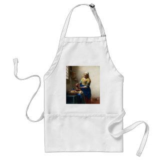 The Milkmaid, Jan Vermeer Apron