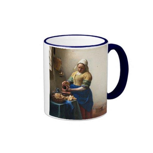 The Milkmaid, Jan Vermeer Mug