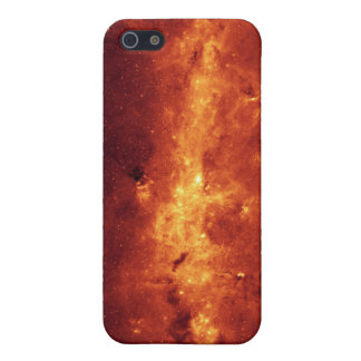 The Milky Way center aglow with dust iPhone 5/5S Cover