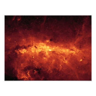 The Milky Way center aglow with dust Photographic Print