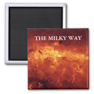 The Milky Way Square Magnet
