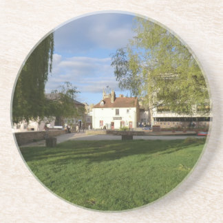 The Mill Pub and Mill Pond in Cambridge Drink Coasters