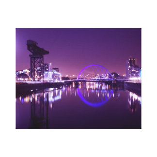 The Millenium Bridge Canvas Print