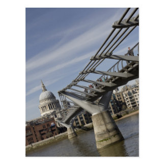 The Millennium Bridge Postcard
