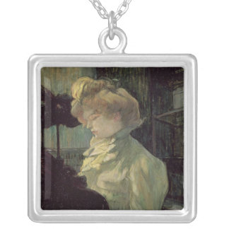 The Milliner, 1900 Silver Plated Necklace