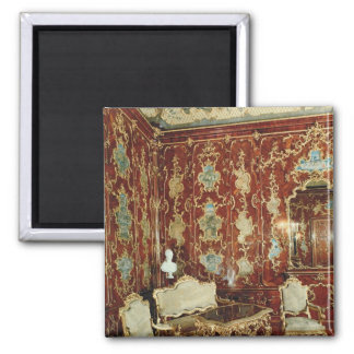 The Millionen Room panelled with fig wood inlaid Refrigerator Magnets