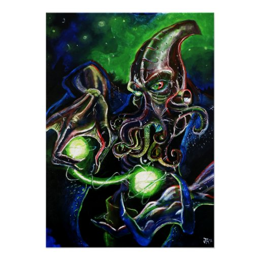 The Mind Flayer Poster