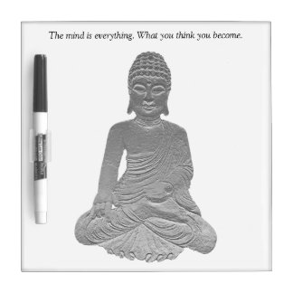 The Mind Is Everything Dry-Erase Whiteboard