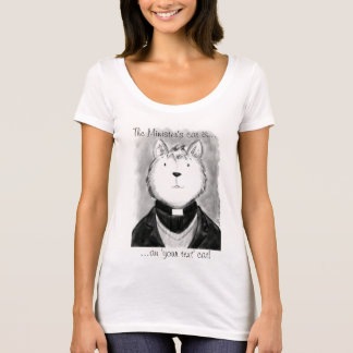 The Minister's Cat! T-Shirt