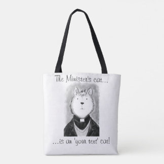 The Minister's Cat Tote Bag