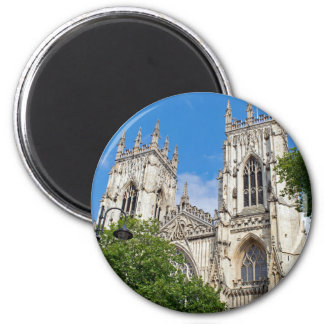 The Minster in York 6 Cm Round Magnet