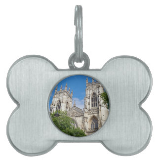 The Minster in York Pet Name Tag