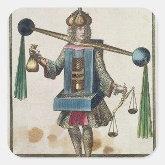 The Minter's Costume Square Sticker