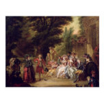 The Minuet under the Oak Tree, 1787 Post Card