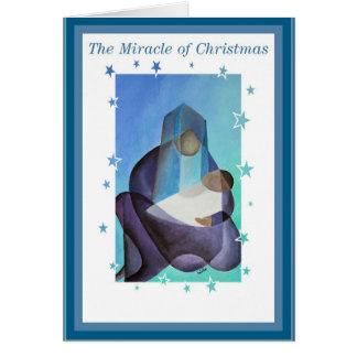 The Miracle Of Christmas Greeting Card