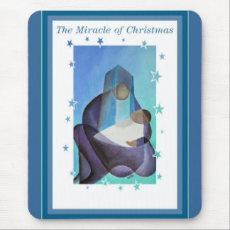 The Miracle Of Christmas Mouse Pad