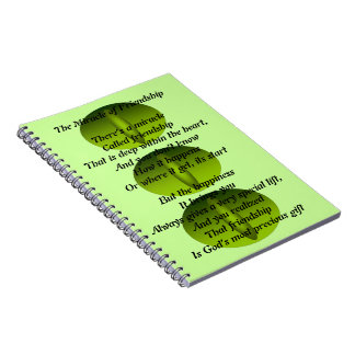 The Miracle of Friendship Poem Note Book Journal
