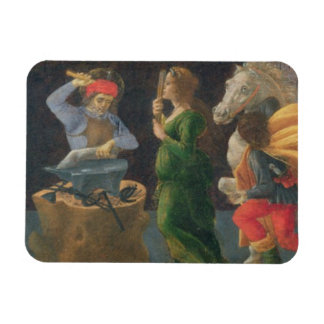 The Miracle of St. Eligius, predella panel from th Rectangular Photo Magnet