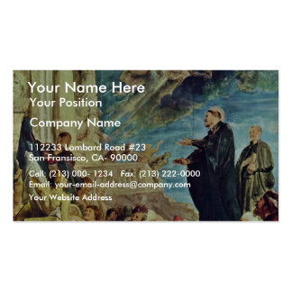 The Miracle Of St Francis Xavier By Rubens Peter Business Card Template
