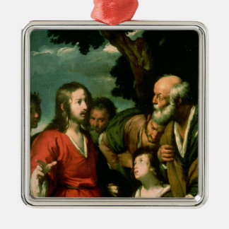 The Miracle of the Loaves and Fishes, c.1630 Christmas Ornament