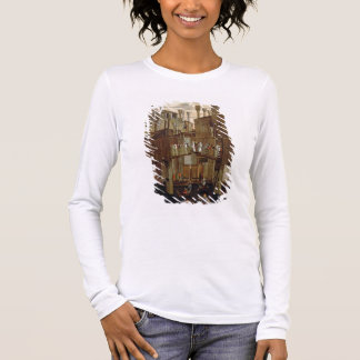 The Miracle of the Relic of the Holy Cross, detail Long Sleeve T-Shirt