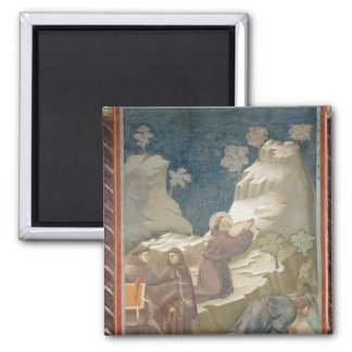 The Miracle of the Spring, 1297-99 Refrigerator Magnet