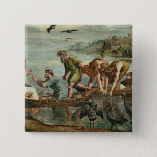 The Miraculous Draught of Fishes (cartoon for the 15 Cm Square Badge