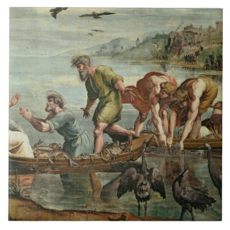 The Miraculous Draught of Fishes (cartoon for the Tile