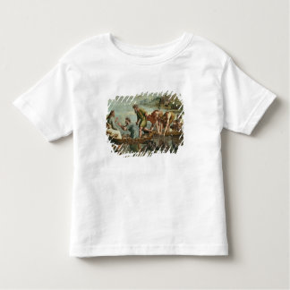 The Miraculous Draught of Fishes (cartoon for the Toddler T-Shirt
