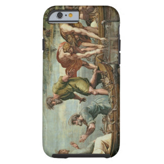 The Miraculous Draught of Fishes (cartoon for the Tough iPhone 6 Case