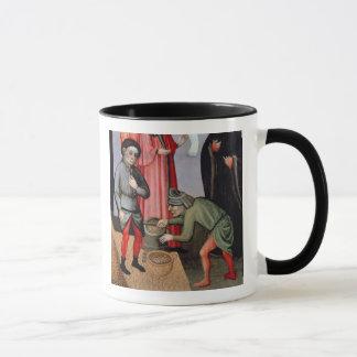 The Miraculous Multiplication of the Grain, detail Mug