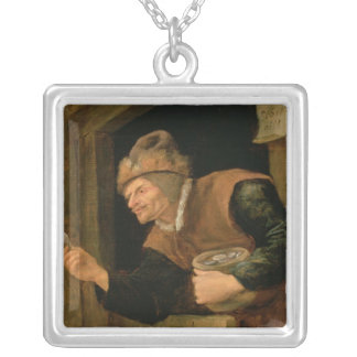 The Miser Silver Plated Necklace