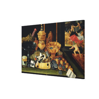The Miser's Treasure Canvas Print