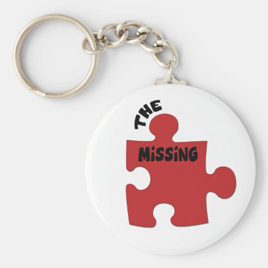 The Missing Piece Basic Round Button Key Ring