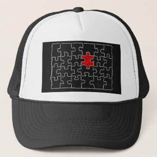 The Missing Piece Trucker Hat