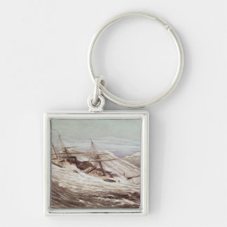 The Mississippi Steam Frigate in a Typhoon Key Ring