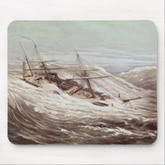 The Mississippi Steam Frigate in a Typhoon Mouse Mat