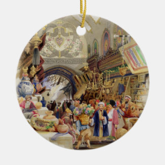 The Missr Tcharsky, or Egyptian Market, in Constan Christmas Ornament