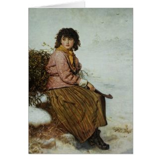 The Mistletoe Gatherer, 1894 Card