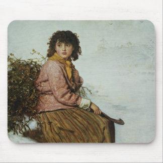 The Mistletoe Gatherer, 1894 Mouse Pad