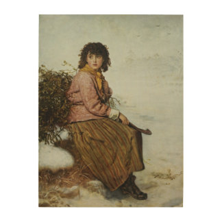 The Mistletoe Gatherer, 1894 Wood Print